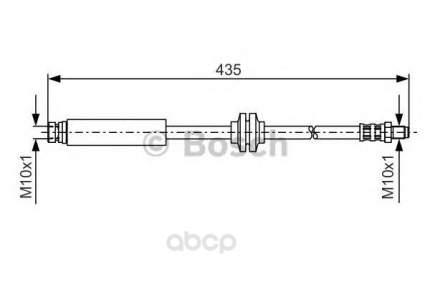 Шланг тормозной Bosch 1987476182