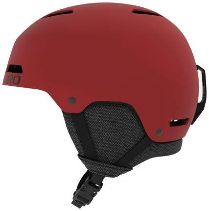 Горнолыжный шлем Giro Ledge 2019, темно-красный, M