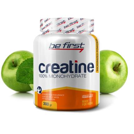 Be First Micronized Creatine Powder 300 г яблоко