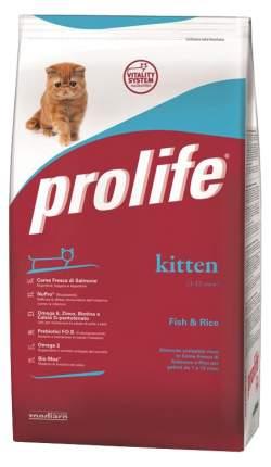Сухой корм для котят Prolife Kitten, рыба и рис, 1,5кг