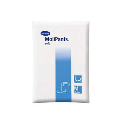 Белье для фиксации прокладок hartmann molipants soft 5 шт M/40