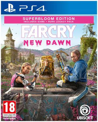 Игра для Sony PlayStation 4 Far Cry New Dawn Superbloom Edition