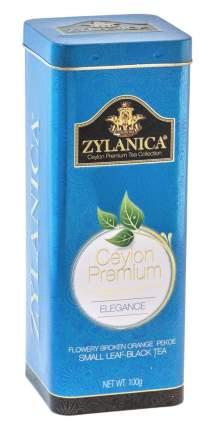 Чай черный листовой Zylanica batik design elegance 100 г