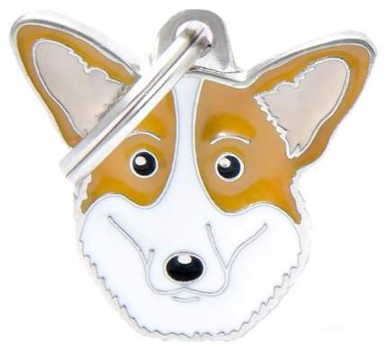Медальон на ошейник My Family Friends Вельш-корги кардиган