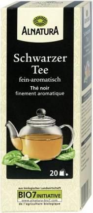 Чай черный Alnatura 20 пакетиков