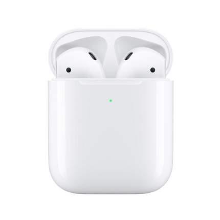 Беспроводные наушники Apple AirPods 2 с беспроводной зарядкой (MRXJ2RU/A)