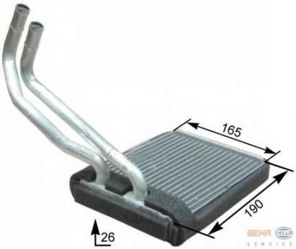 Теплообменник, отопление салона легковой автомобиль Hella 8FH351315-271