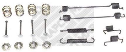 Ремкомплект пружин для задних барабанных колодок Mapco  9111