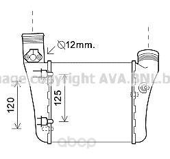 Радиатор охлаждения двигателя Audi A4, S4 Ava AIA4333