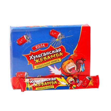 Жевательная конфета Хулиганская жевамба кола