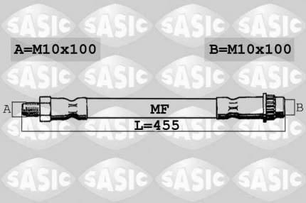 Шланг тормозной системы SASIC 6604026