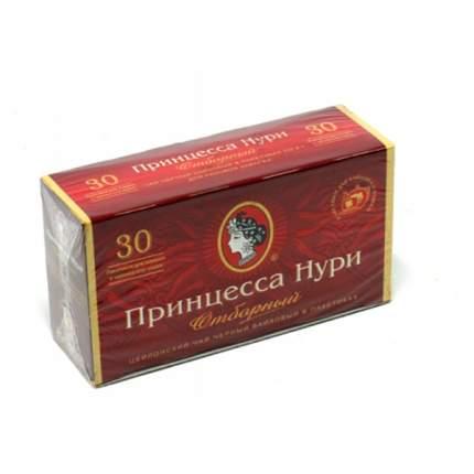 Чай Принцесса Нури отборный черный  30 пакетиков