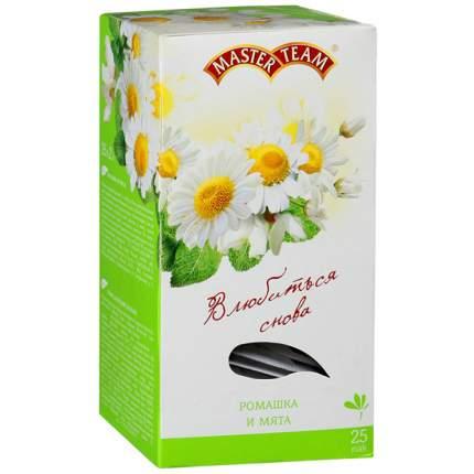 Чай Master Team ромашка-мята травяной с ароматом белой акации 25 пакетиков