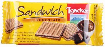 Вафли Haas сэндвич шоколад 25 г