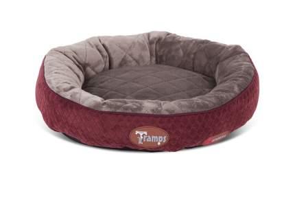 Лежанка для кошки Tramps плюш 12x50x12см красный