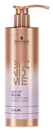 """Оттеночный шампунь Schwarzkopf BLONDME Blush Wash Lilac """"Лиловый"""" 250 мл"""