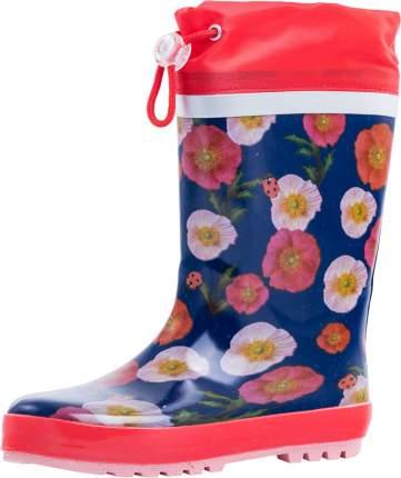 Резиновая обувь для девочек Котофей р.32, 566143-11 весна-осень
