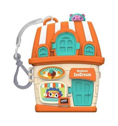 Игровой набор 1TOY Bbuddieez Оранжевый домик