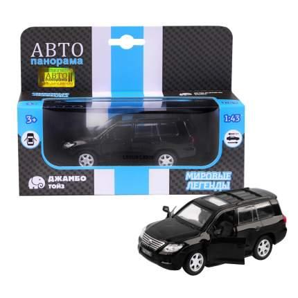 Машинка металлическая Автопанорама 1:43 Lexus LX570 черный JB1200169