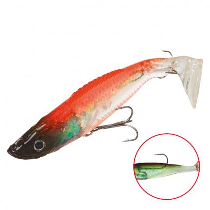 Виброхвост оснащенный Mikado Crystal Fish WXH-59 8 см, 73, 2 шт.