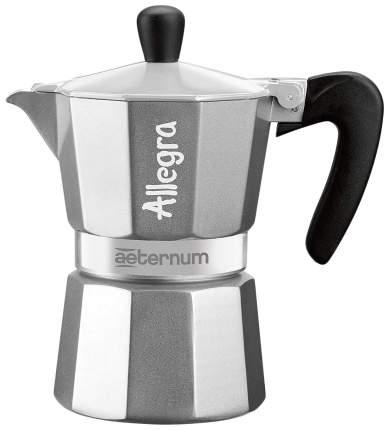Гейзерная кофеварка Bialetti AETERNUM Allegra SILVER