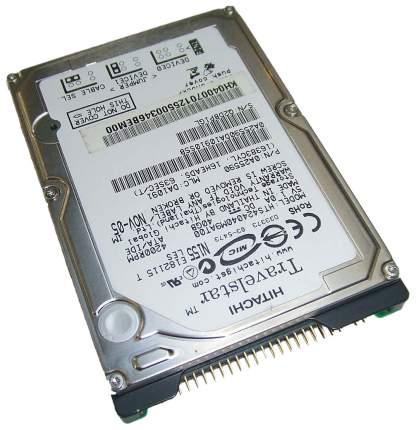 Внутренний жесткий диск HGST Travelstar 4K40 40GB (HTS424040M9AT00)