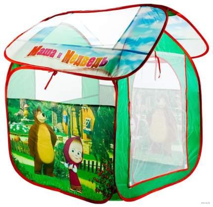 Игровая палатка Играем Вместе Маша и Медведь GFA-MB-R