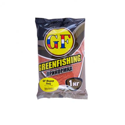 Прикормка Green Fishing Фидер Лещ 1 кг