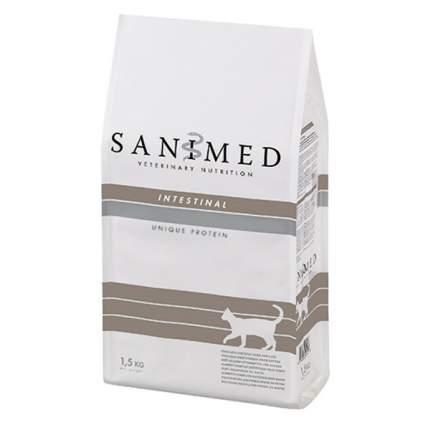 Сухой корм для кошек SANIMED Intestinal, домашняя птица, 1,5кг