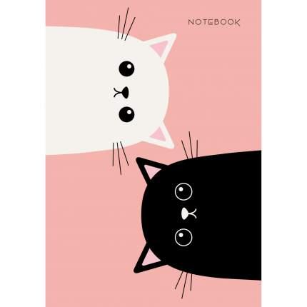 "Книга для записей ""Котики"" А6, 96л"