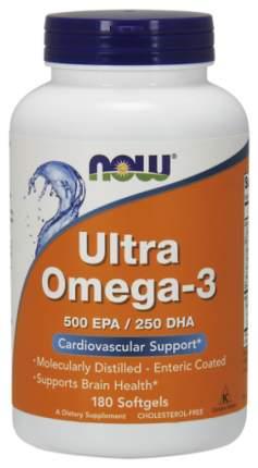 Omega-3 NOW Ultra 500 Epa/250 Dha 180 капс.