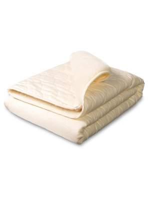 Одеяло-плед Сонный гномик меховое Барашек бежевый