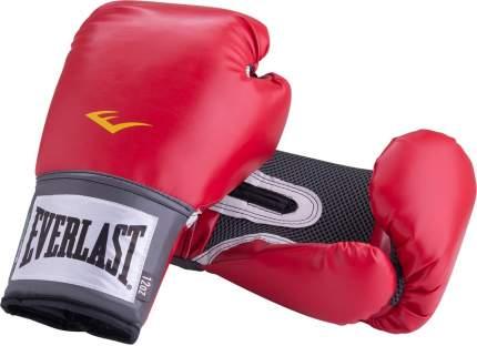 Боксерские перчатки Everlast Pro Style Anti-MB красные 10 унций