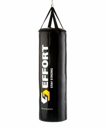 Мешок боксерский Effort E156, тент, 25 кг, черный