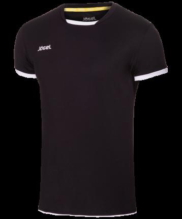 Футболка мужская Jogel JVT-1030-061, черно-белые, L INT