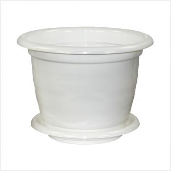 Горшок Виола 5л. М1343 белый