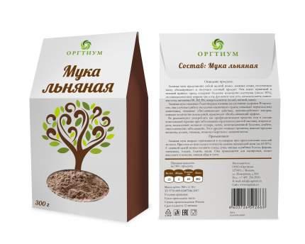 Мука льняная Оргтиум экологическая  300 г