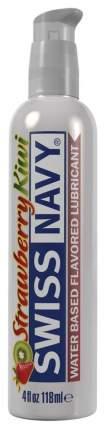 Гель-смазка Swiss Navy Strawberry Kiwi Lube 118 мл