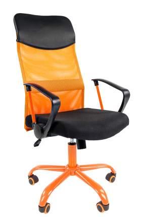 Офисное кресло CHAIRMAN 610 00-07021400, черный/оранжевый
