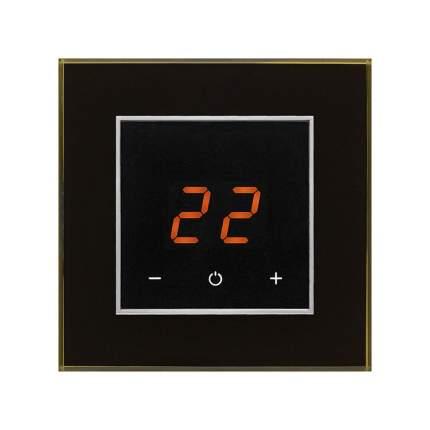 Терморегулятор для теплых полов Aura Technology ORTO 9005 BLACK CLASSIC