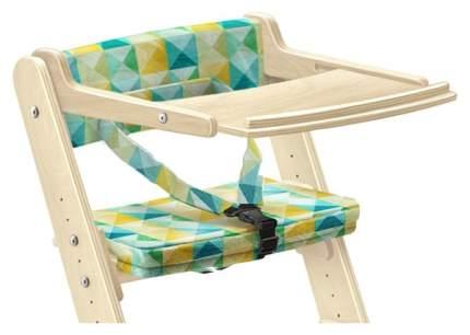 Столик для стула Конек Горбунек с аксессуарами 09390-52 Орех/Фламинго