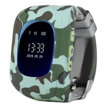 Детские смарт-часы SBW Q50 (хаки)