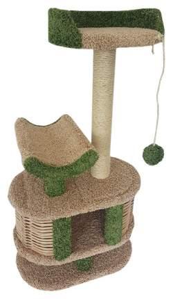 Комплекс для кошек Пушок Йорик Бежевый с зеленым