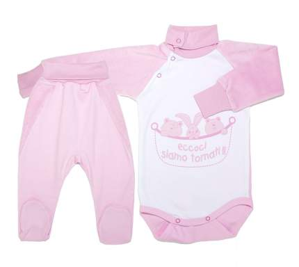 Комплект одежды для девочек Осьминожка 318-256П-20/62 розовый р.62