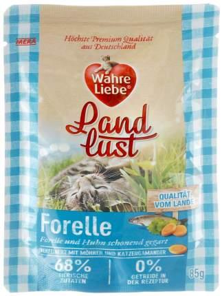 "Влажный корм для кошек Wahre Liebe ""Landlust ""Forelle"" с форелью, 85г"