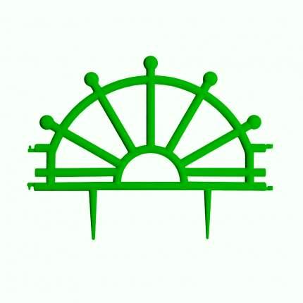 """Забор декор""""Штурвал""""зеленый"""
