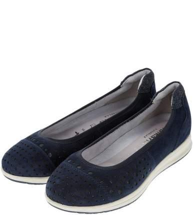 Балетки женские Tamaris 1-1-22125-22-805 синие 38 DE