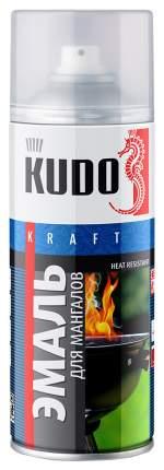 Эмаль Kudo Термостойкая Для Мангалов (Черная) 520 Мл KU-5122