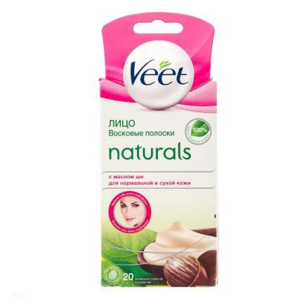 Полоски для депиляции Veet Naturals 20 шт