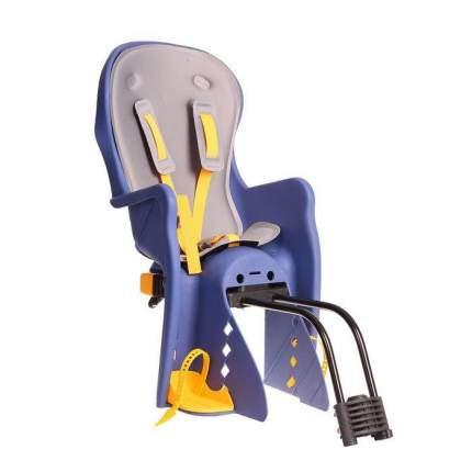 Велокресло детское BQ-9-1 (быстросъёмное крепление за подседельную трубу рамы), Синий